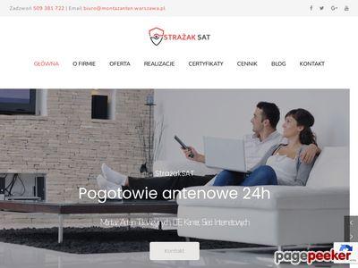 Sieci internetowe - montazanten.warszawa.pl