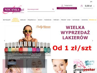 Nocanka.pl - Twoja Drogeria Internetowa
