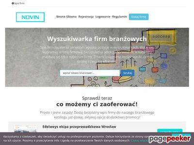 Spis firm Novin.pl