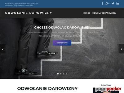 Blog odwolanie-darowizny.pl