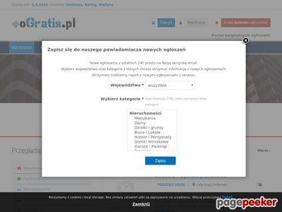 OGratis.pl- Wystawiaj ogłoszenie za darmo - Łatwo i szybko wystawisz swoje ogłoszenie !!!
