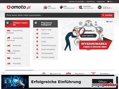 Omoto.pl części do samochodów i maszyn.