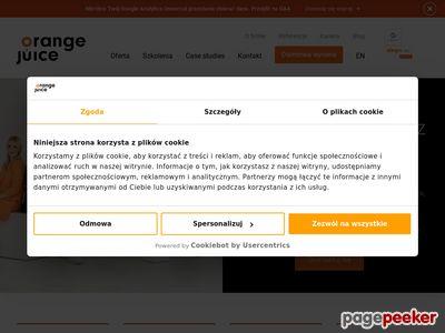 Szkolenia analytics - Orangejuice.pl