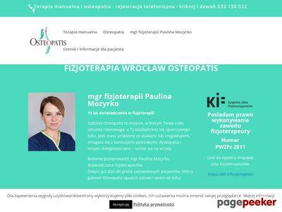 OSTEOPATIS Paulina Mozyrko