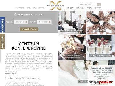 www.hoteldebowagora.pl