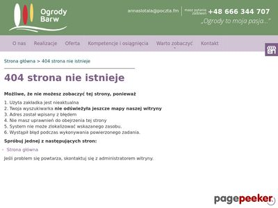 www.ogrodybarw.pl