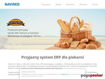Navireo - oprogramowanie dedykowane m.in dla piekarni