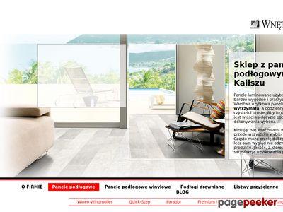 Wnętrza z klasą panele podłogowe na klik