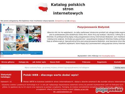 Katalog stron internetowych - polski-web.pl ?