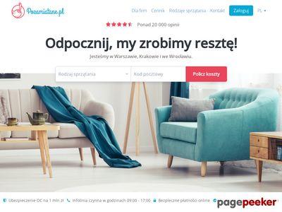 Pozamiatane - praca sprzątanie (Warszawa)