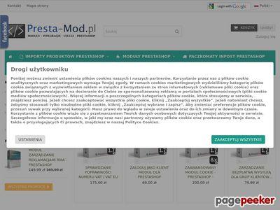 Presta-Mod.pl - Sprzedawca allegro PrestaShop
