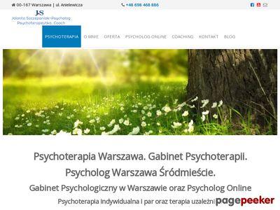 www.profesjonalna-terapia.pl Terapia uzależnień Warszawa