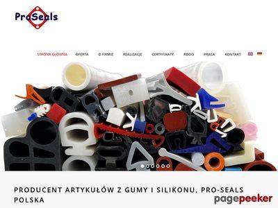 Tworzywa konstrukcyjne - Pro-Seals Polska Joanna Kudła