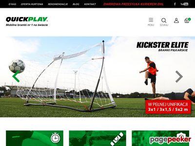 Bramki do piłki nożnej dla dzieci Quickplay Polska
