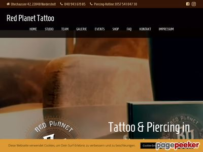 Red Planet Tattoo in 22848 Norderstedt