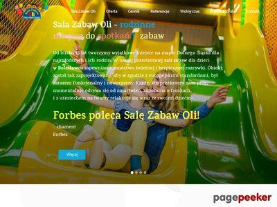 Imprezy dla dzieci Bolesławiec - Sala Zabaw Oli