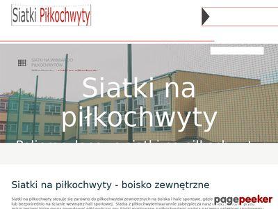 SiatkiPilkochwyty.pl - siatki ochronne