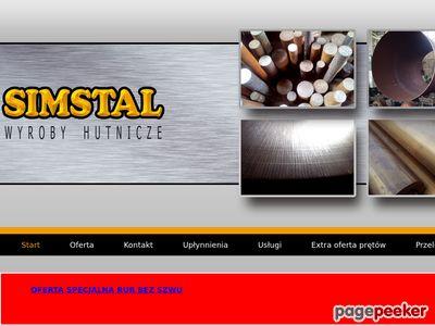 Simstal.pl - hurtownia stali