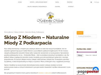 Miody, propolis