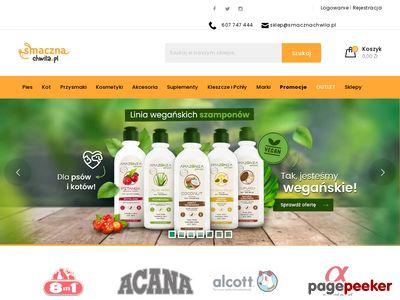 SMACZNACHWILA.PL - karma dla psów, kotów, sklep zoologiczny