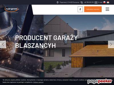 Profesjonalne garaże blaszane - super-garaze.pl