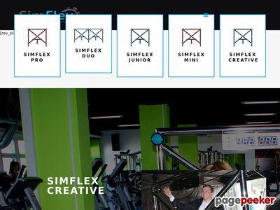 Sportowy symulator to rewelacyjny przyrząd do ćwiczeń pozwalający na trening fizyczny