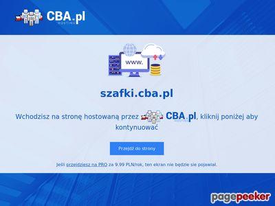 Szafki.cba.pl - informacje
