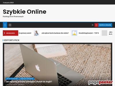szybka pożyczka gotówkowa przez internet - szybkieonline.pl