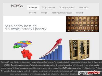 Zakładanie stron internetowych Tachion