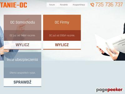 Agencja ubezpieczeniowa - Tanie OC sp. z o.o.
