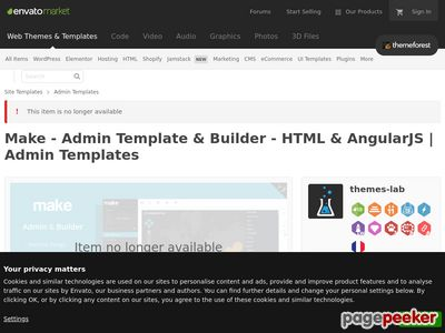 http://themeforest.net/item/make-admin-template-builder-html-angularjs/10511387?ref=AaronSmith28 website snapshot