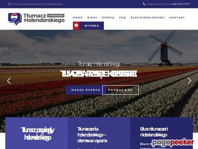 Tłumacz przysięgły niderlandzkiego