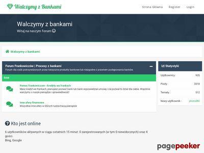 Kancelaria kredyt we frankach - walczymyzbankami.pl