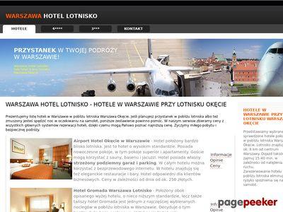 Hotele w Warszawie przy lotnisku