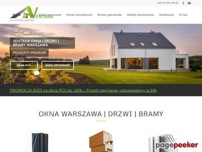 Stolarka otworowa Warszawa - Ventana