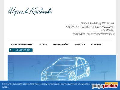 Wojciechkwitowski.pl doradca kredytowy