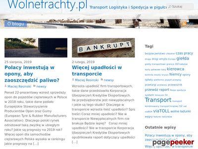 Blog o transporcie - wolnefrachty.pl