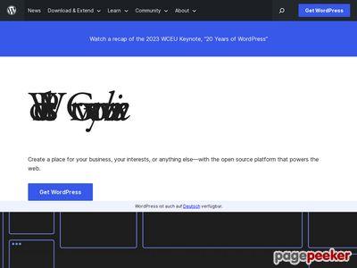 Wordpress - Strona Domowa Projektu