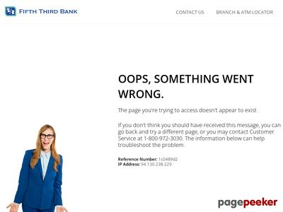 Fifth Third Bancorp Website