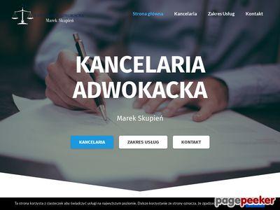 MAREK SKUPIEŃ sprawy cywilne Wodzisław Śląski