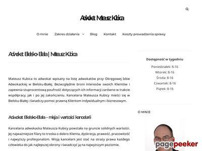 Kancelaria Adwokacka Adwokat Mateusz Kubica