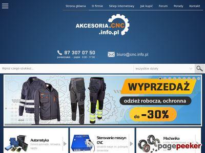 Elektrowrzeciona - Akcesoria.cnc.info.pl