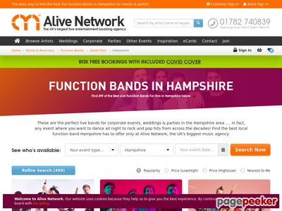 Hampshire Jazz Band by Alive Network