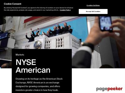 American Express Company Website