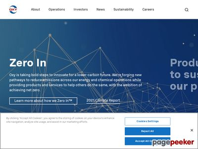 Anadarko Petroleum Corporation Website