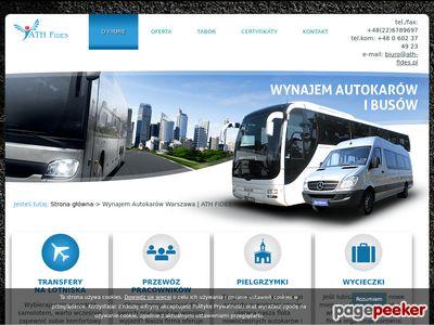 Wynajem autokarów ATH-Fides Warszawa