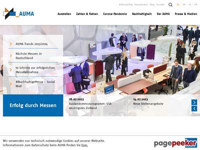 AUMA(德国经济展览和博览会委员会)