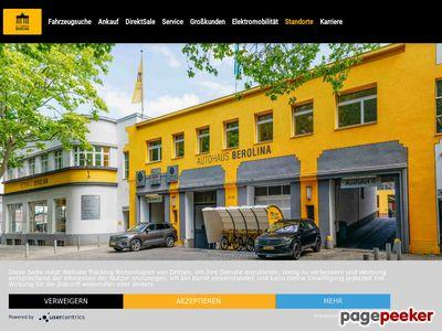 Autohaus Berolina - Halensee in 10709 Berlin