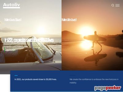 Autoliv Inc. Website