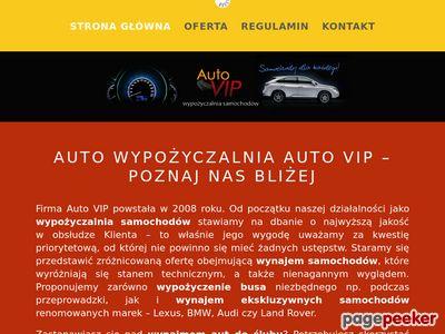 Renomowana wypożyczalnia samochodów Poznań